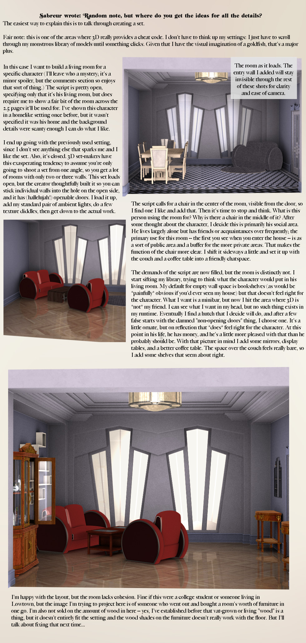How To Make A Room, Part 1
